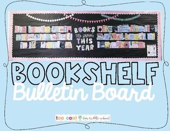 Bookshelf Bulletin Board (Interactive!)