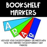 Bookshelf Markers