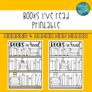 Bookshelf: Visual Reading Tracker v.2