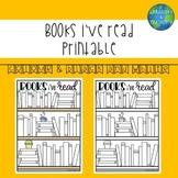 'Books i've read' Visual Reading Tracker
