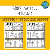 'Books i've read' Visual Reading Tracker