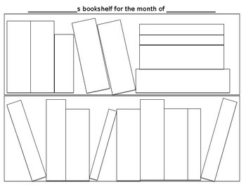 Bookshelf reading log