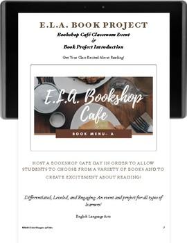 Bookshop Cafe Book Project & Classroom Event