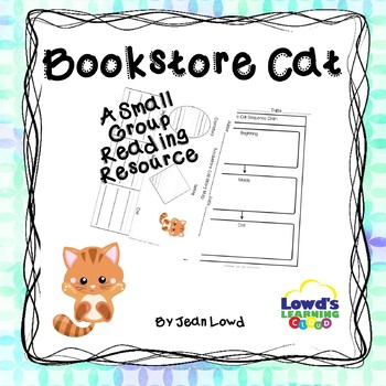 Bookstore Cat Comprehension Activities