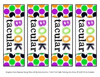 Booktacular Bookmarks