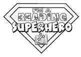 "Bookweek ""I'm a Reading Superhero"" activity pack"