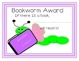 Bookworm Award for Girl