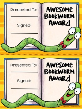 Bookworm Awards