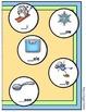 Bookworm Beginning Blends File Folder Game