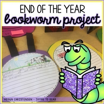Bookworm Book Project for the End of the Year