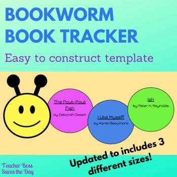 Bookworm Book Tracker Template