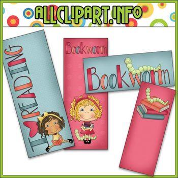 Bookworm Bookmarks