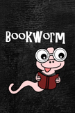 Bookworm Brag Tag for great readers!