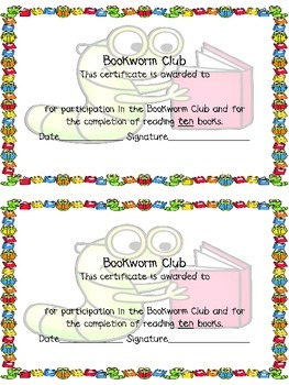 Bookworm Club: A School-Home Reading Connection