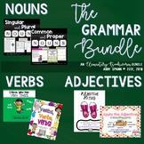 Bookworm Grammar Bundle: Nouns, Verbs and Adjectives