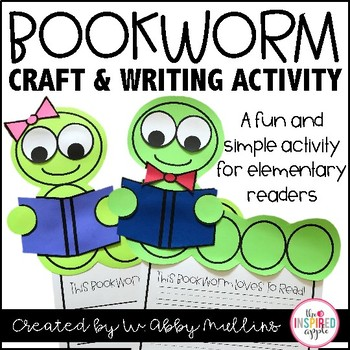 Bookworm Reading Craft