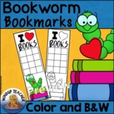 Bookworm Reading Incentive Bookmarks
