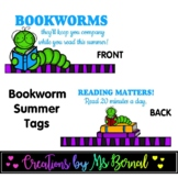 Bookworm Tent Labels | End of the Year
