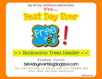 Bookworm Treat Header