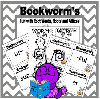 Bookworm's Fun with Root Words, Roots, and Affixes