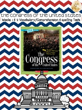 Bookworms Aligned Congress of the United States Spelling & Vocabulary Tests