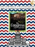 Bookworms Aligned Congress of the United States Spelling &