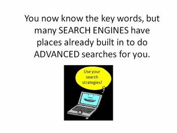 Boolean Searching - Elementary Power Point