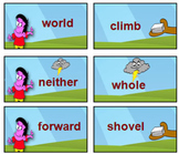 'SIGHT WORD GAME' - 'Boom' - A Sight Word Game for List Word Practise