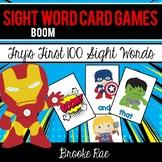 Boom: A Super Hero Sight Word Game