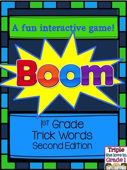 Boom - A Game with Trick Words Level 1 Second Edition