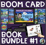 Boom Book Bundle #1 (Boom Card Activities) Distance Learning
