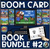Boom Book Bundle #2 (Boom Card Activities) Distance Learni