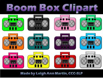 Boom Box Clipart