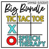 Boom Card Big Tic Tac Toe Bundle | Speech Therapy
