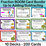 Boom Card Bundle - 10 Decks 200 Cards- Everything you need