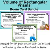 Boom Card Bundle - 5th Grade Volume of Rectangular Prisms