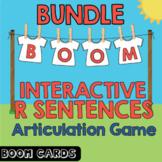 Boom Cards Bundle | Coarticulation | Vocalic R Sentences | Speech Therapy
