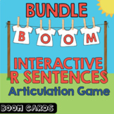 Boom Cards Bundle | Coarticulation | Vocalic R Sentences |