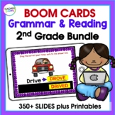 BOOM CARDS GRAMMAR | 2nd Grade GRAMMAR | DIGITAL TASK CARDS BUNDLE