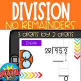 Boom Card Deck: Division 3 digits by 2 digits