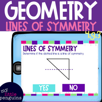 Boom Card Deck: Lines of Symmetry 4.g.3