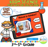Boom Card Mixture or Solution Pack