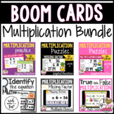 Boom Card Multiplication Bundle