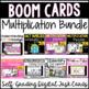 Boom Card Multiplication Fluency Bundle
