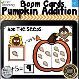 Boom Card Pumpkin Adddition to 10