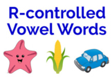 Boom Card R-controlled Vowel words