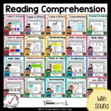 Boom Cards Reading Comprehension Bundle Distance Learning