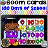 Boom Cards 100 Days of School Mystery Picture