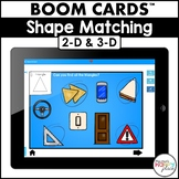 Boom Cards 2-D and 3-D Shapes (Digital Task Cards) - Dista