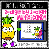 Boom Cards 2-Digit by 2-Digit Multiplication